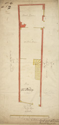 [Plan of property on Budge Row] 120A